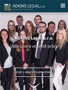 Adkins Legal homepage